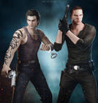 Resident Evil - Billy x Jake by DemonLeon3D