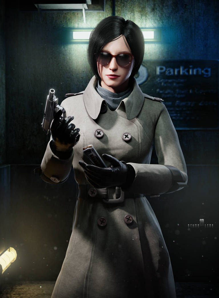 Ada Wong RE2 Remake by DemonLeon3D on DeviantArt