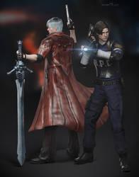 Dante x Leon by DemonLeon3D