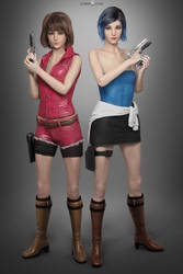 Max x Chloe - Cosplayers by DemonLeon3D