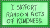 Random acts of Kindness by Tulpen-Teufel