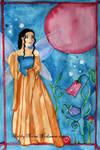 Moonlight fairy princess by fairychamber