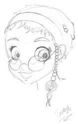 w.i.t.c.h: portrait of Taranee by fairychamber