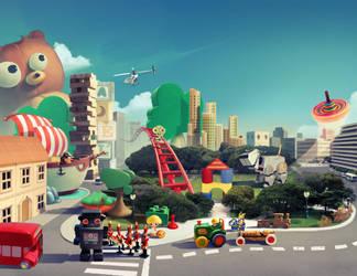 toy city by neofotistou
