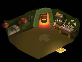 Fantasy panda house by neofotistou