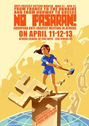 Socialist Realism Poster by neofotistou