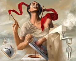 Salvador Dali autosodomized by neofotistou