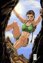 Lara Croft-Mike Turner by Drastic-Art