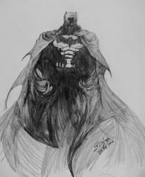 Batman in shadows by Novandrie