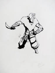 Ink Juggernaut by Novandrie