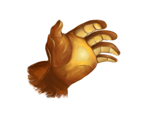 Hand of Midas logo - TFP by Novandrie
