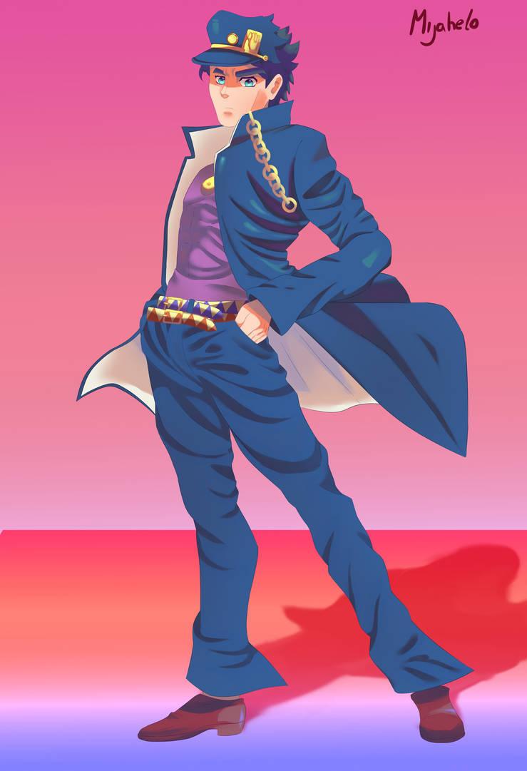 JoJo's Bizarre Adventure (Jotaro) by M1j4h3l0