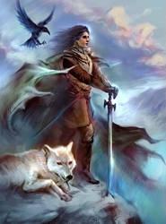 Jon Snow by SharksDen