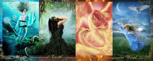 +Four Elements+ by moroka323