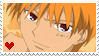 Stamp: Kyo Sohma by DraconemIgnis
