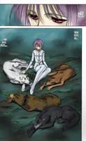 Lullaby (wolf's rain) by ravenescence