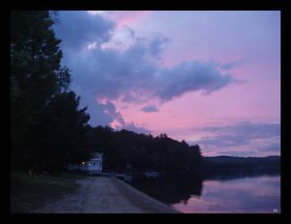Purple Sugar Skies by LadyLittleStar
