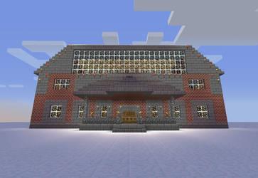 Minecraft The Mansion by seth243