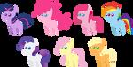 Pony pack 18 by Zacatron94