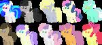 Pony pack 19 by Zacatron94