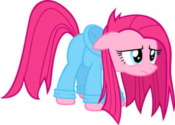 Pinkie's Rough Morning by Zacatron94