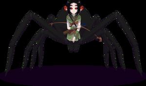 Claire the Arachne by Zacatron94