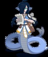 Aqua, the Lamia Cleric by Zacatron94