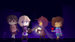 Chibi Pixel Protagonists by Zacatron94