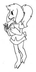Bookworm by Napstablook