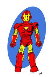 Plummies- Iron Man by PlummyPress