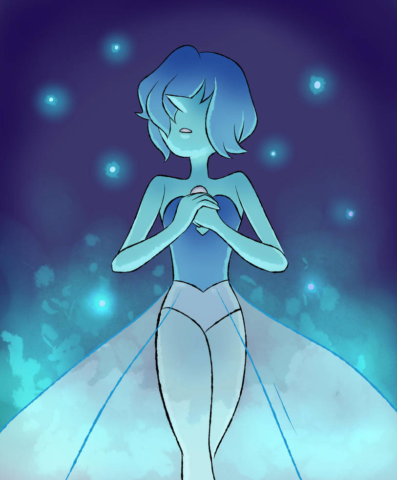 Blue Diamond's Pearl from The Answer! She's so beautiful, I want to learn more about her.