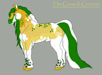 The Grass Is Greener by KThunderWolf