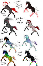 Halloween breedings part 1 by KThunderWolf