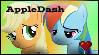 REQUEST: AppleDash Stamp by DallyDog101