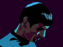 Spock in Twilight by Morninglori