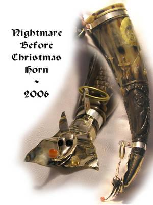 The Nightmare before Christmas by Bonecarverpm