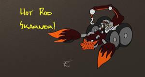 League of Legends - Hot Rod Skarner Skin Idea by Adamant-Soul