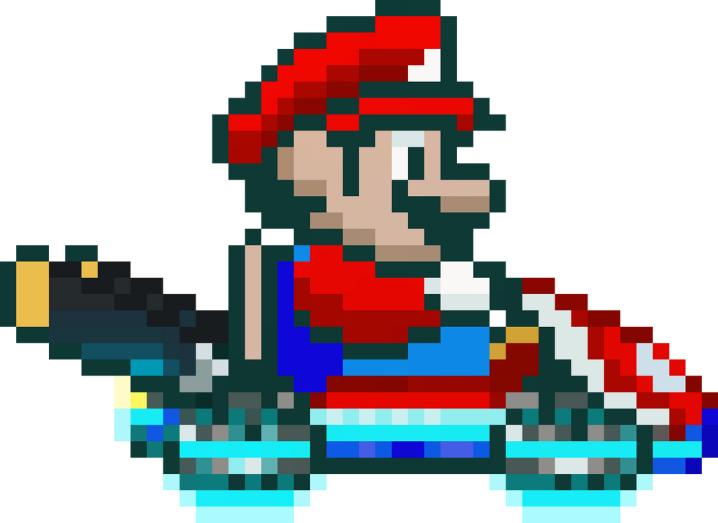 What if Super Mario Kart was like Mario Kart 8? by ...