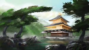 Japan's Golden Pavilion by IvanChanCL