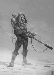 Sniper Girl by IvanChanCL