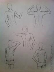 anatomy_study_man by DT-Kitt3000