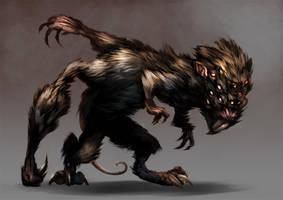 Mutant Monstrosity by Scebiqu