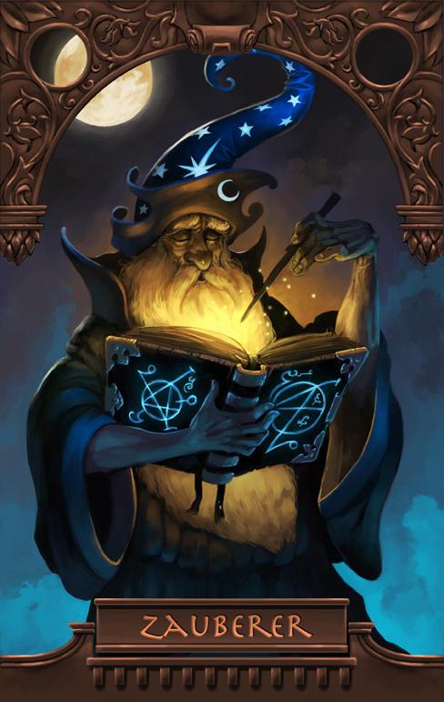 Wizard by Scebiqu