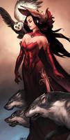 Athena by Scebiqu