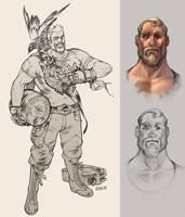 Odin by Scebiqu
