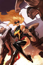 Ms Marvel by Scebiqu