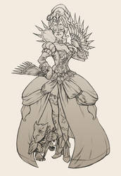 Assassin Queen by Scebiqu