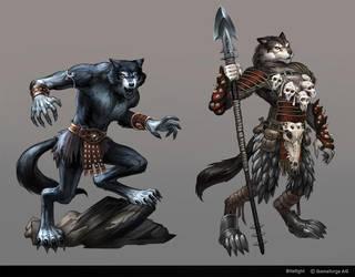 Bitefight Werewolves by Scebiqu