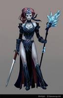 Gothic Witch by Scebiqu
