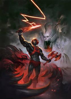 Anti He-Man by Scebiqu